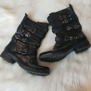 G By Guess Motorcycle Vibes Boots  Moto Boots
